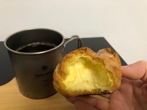 Vanilla Custard Cream Puff/Seven Eleven