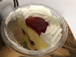 苺ソースのかまくらケーキ/セブンイレブン