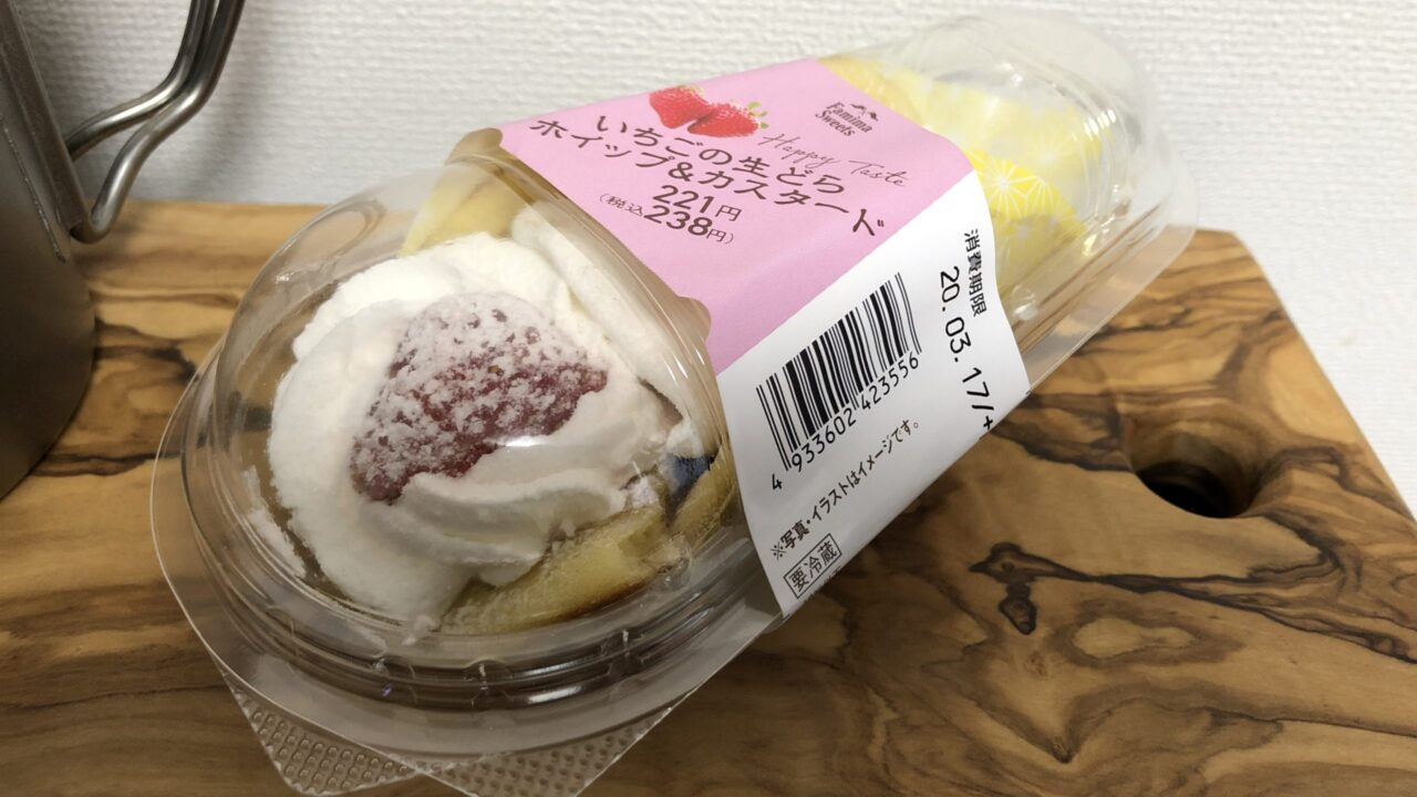 Strawberry Cake/Family Mart
