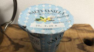 塩バニラプリン/ファミリーマート(北海道乳業)