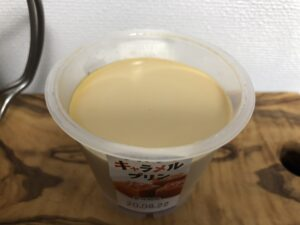 ソルティキャラメルプリン/ファミリーマート(トーラク)