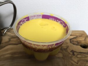 Bigプッチンプリンおさつバター/ローソン(グリコ)