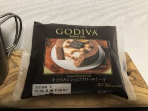 Caramel Chocolate Swiss Roll/LAWSON(GODIVA)