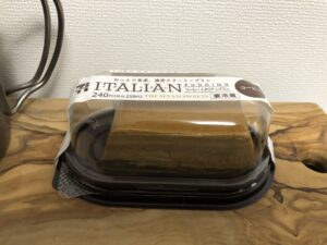 Coffee Italian Pudding/Seven Eleven