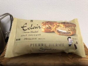 PIERRE HERME Eclair Marron Chocolate/Seven Eleven