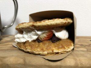 Red Bean Paste & Strawberry Milk Pie/LAWSON