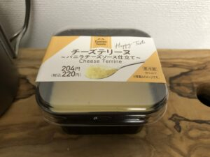 Cheese Terrine/Family Mart