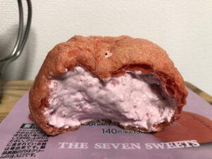 Strawberry Cream Puff with Cheese Cream/Seven Eleven