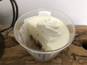 No-Bake Cheese Cake with Crispy cookie/Seven Eleven
