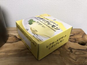 No-Bake Cheese with Sicilian Lemon/Seven Eleven